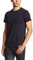 G Star Men's Fless Crew Neck Shortsleeve Tee Shirt In Compact Jersey