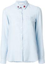 Chinti and Parker ladybird collar shirt - women - Silk/Cotton - XS