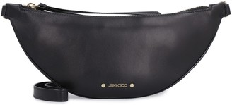Jimmy Choo Faye Leather Belt Bag With Logo