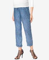 Isabella Oliver Maternity Printed Pants