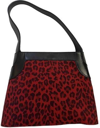 Ungaro Red Suede Handbags