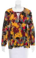 Rachel Pally Floral Long Sleeve Blouse w/ Tags