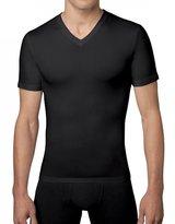 Spanx Cotton Compression V-Neck T-Shirt, XL