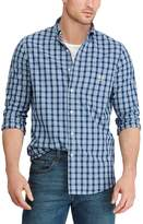 Chaps Men's Classic-Fit Plaid Easy-Care Button-Down Shirt