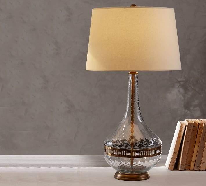 pottery barn table lamps shopstyle rh shopstyle com