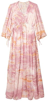 Young Fabulous & Broke Meadow Dress (Peach/Bamboo) Women's Dress