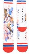 Stance Men's 'Isiah Thomas' Watercolor Print Socks