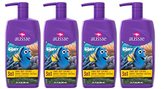Aussie Dora the Explorer Coral Reef Cupcake 3 In 1 Shampoo + Conditioners & Body Wash 29.2 Fl Oz (Pack of 4)