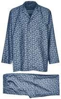 Daniel Hanson Silk Twill Mini Paisley Pyjamas