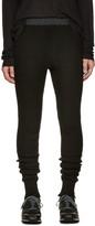 Sacai Black Wool Lounge Pants