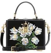 Dolce & Gabbana Dolce Box painted wooden shoulder bag