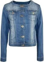 a2z4kids Kids Girls Jacket Kids Denim Style Stylish Fashion Trendy Jacket Age 3-16 Years