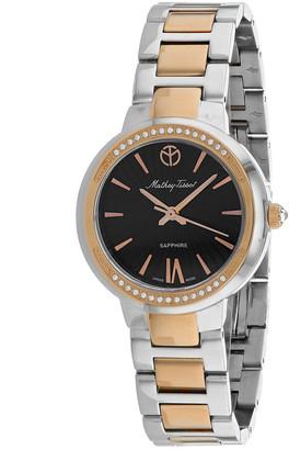 Mathey-Tissot Women's Lucrezia Crystal Watch