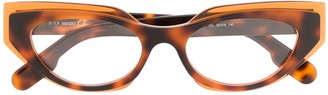 Kenzo Cat-Eye Acetate Glasses