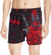 Briefly Stated Men's Deadpool Cotton Boxers