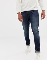 Nudie Jeans Tight Terry super skinny fit jeans in strong worn