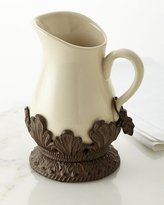 GG Collection G G Collection Cream Ceramic Pitcher