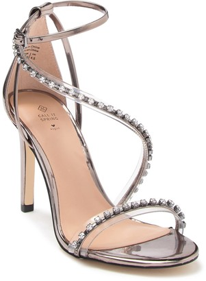 Call it SPRING Zihna Embellished Strappy Heel