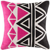 Kas Bocca Pink Square Cushion Cover
