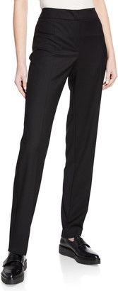 Emporio Armani Basic Stretch Wool Pants