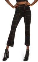 Leith Ponte High Waist Kick Flare Pants (Regular & Plus Size)