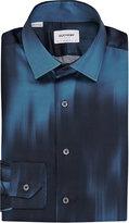 Duchamp Abstract-print Silk Shirt