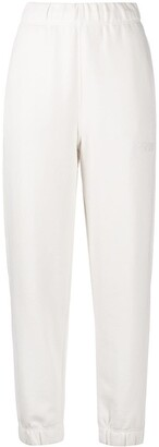 Ganni Embroidered Logo Track Trousers