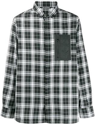 Neil Barrett Contrast Pocket Plaid Shirt