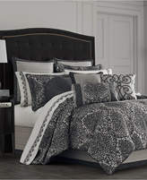 J Queen New York Raffaella Graphite 4-Pc. King Comforter Set Bedding