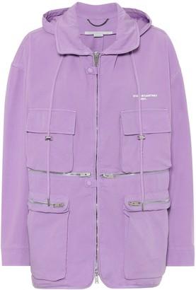 Stella McCartney Janessa stretch-cotton jacket