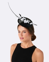 Forever New Cleo Orchid Fascinator