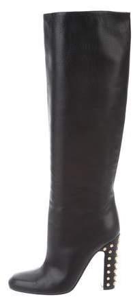 fa8ebceeb Gucci Black Round Toe Women's Boots - ShopStyle