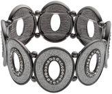 Apt. 9 Glittery Oval Stretch Bracelet