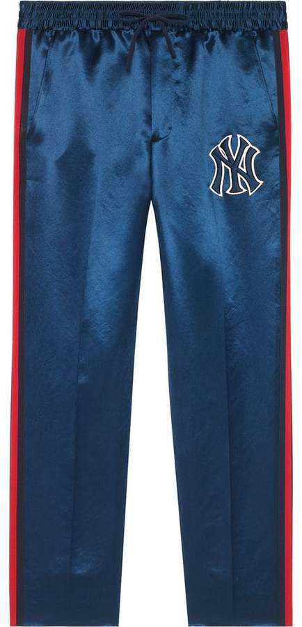 Gucci Jogging pants with NY YankeesTM patch