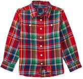 Ralph Lauren Flannel Tunic, Toddler Girls (2T-5T) & Little Girls (2-6X)