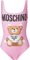 Moschino teddy front swimsuit