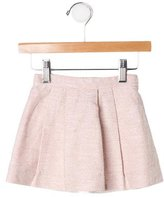 Bonpoint Girls' Tweed Pleated Skirt