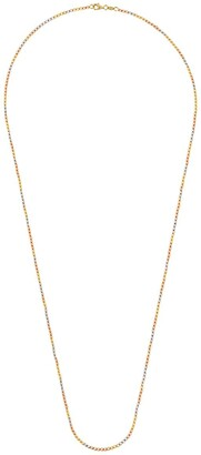 Carolina Bucci 18kt yellow, white and rose gold Long Disco Ball necklace