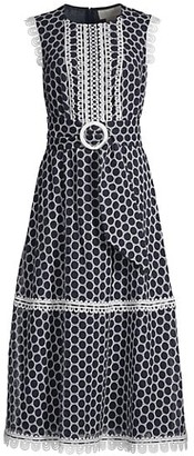 Sachin + Babi Farah Dot Belted Dress