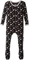 Kickee Pants Print Footie (Baby) - Midnight Stars - 0-3 Months