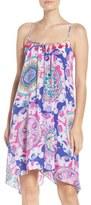Lilly Pulitzer Embellished Silk Trapeze Dress