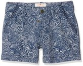 Fat Face Girl's Elephant Print Shorts