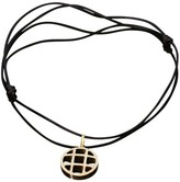 Cartier 18K Yellow Gold Diamond Circle Enhancer Pendant Necklace