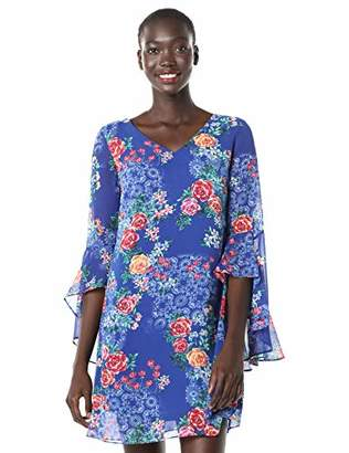 Calvin Klein Women's Chiffon Floral Printed Shift Dress