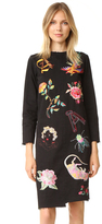 Aries Liberace Embroidered XY Dress