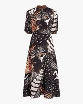 Temperley London Rosella Bird Dress