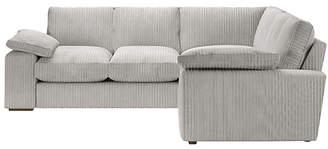 Argos Home Phoebe Dual Facing Corner Sofa - Light Grey