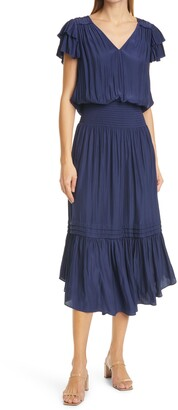 Ramy Brook Ali Short Sleeve Dress