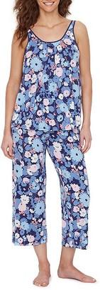 Kate Spade Swing Floral Cropped Modal Pajama Set