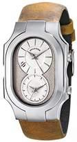 Philip Stein Teslar Men's 200-SLG-CAM Swiss Signature Analog Display Swiss Quartz Brown Watch